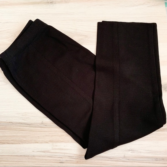 Misook Pants - Exclusively Misook Black Straight Leg Pant